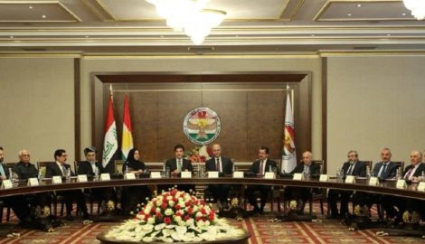 Meeting between Iraqi President and Kurdistan's Institutions