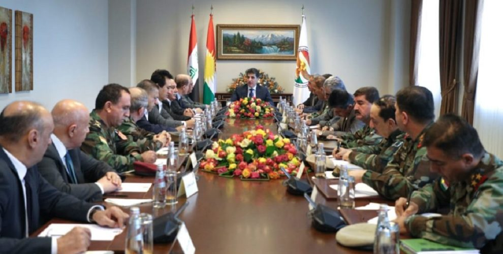 Reform of the Peshmerga Forces