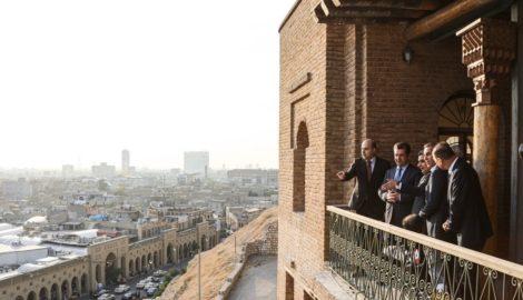 Prime Minister Masrour Barzani visits Erbil Citadel