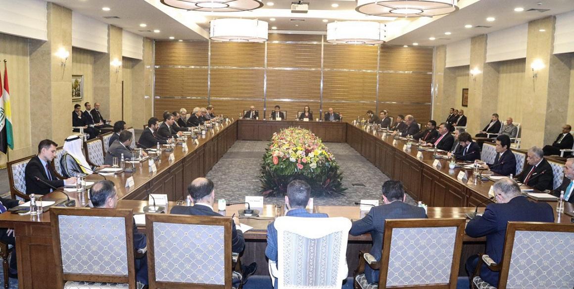 Premierminister triff das diplomatische Korps in der KRI