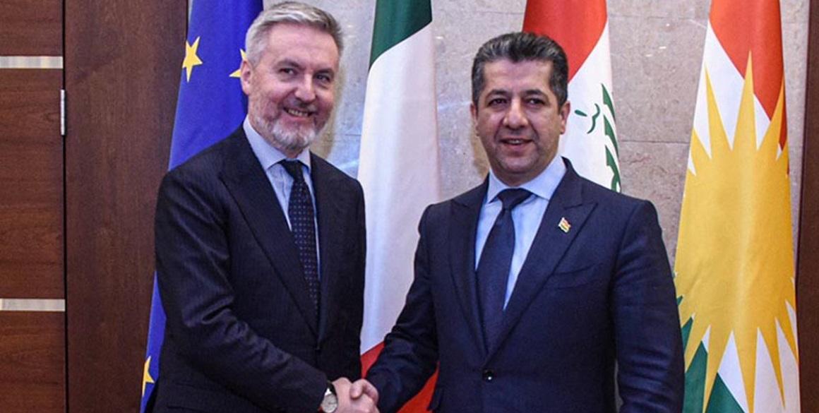 Italienischer Verteidigungsminister besucht die KRI