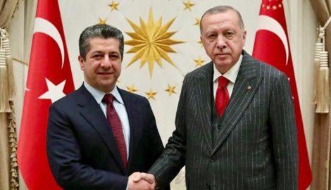 Prime Minister Barzani in Turkey