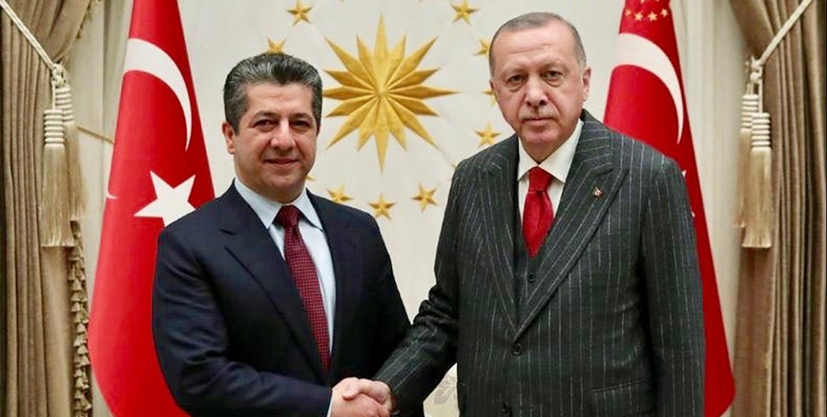 Prime Minister Barzani in Turkey