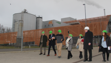 KRG employees visit Vienna's waste incineration systems
