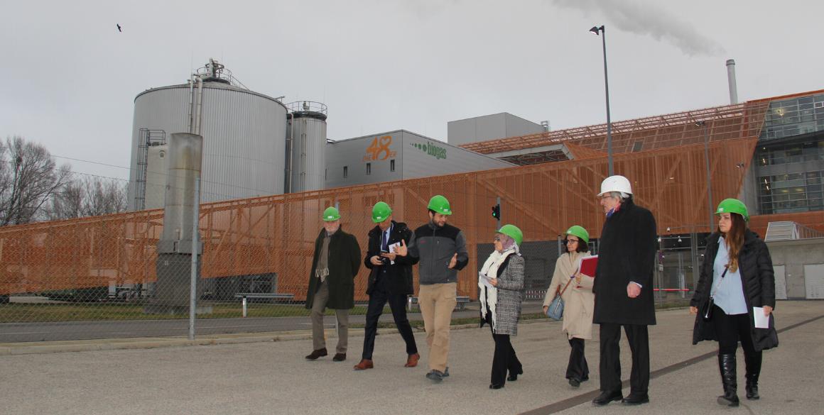 KRG Beamte besuchen Wiener Müllverbrennungsanlagen