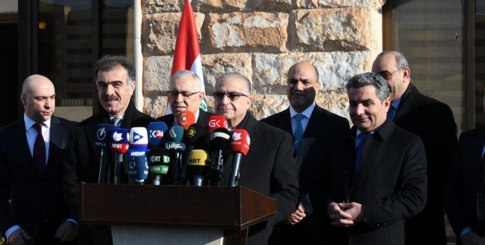 Irakischer Außenminister in der Region Kurdistan