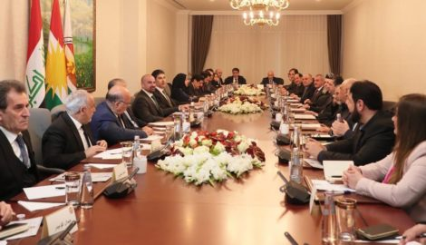 Joint meeting between Kurdistan Region's top officials