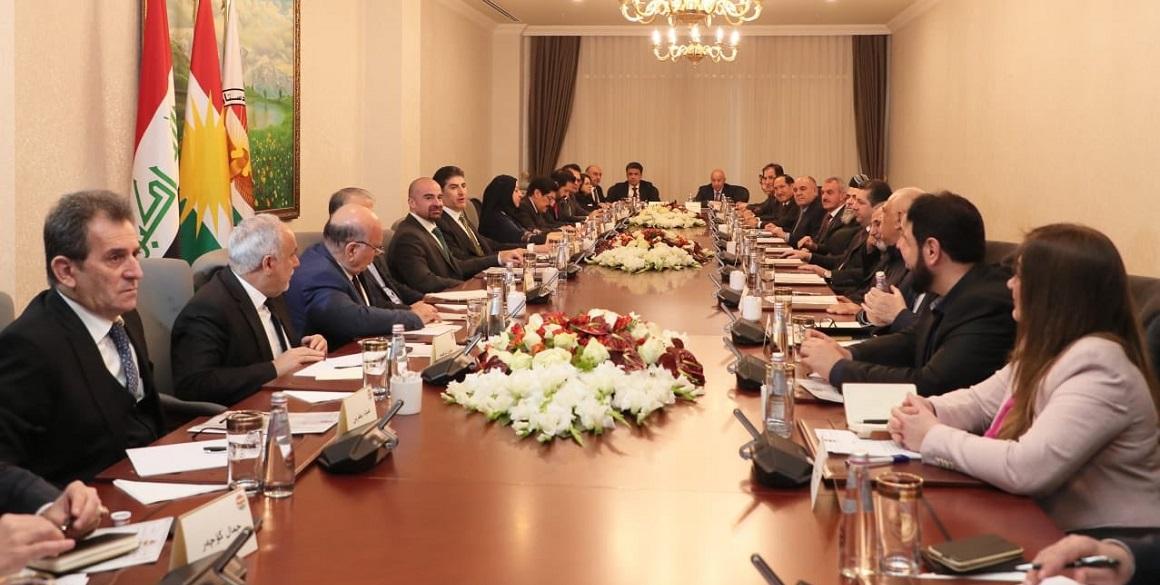 Joint meeting between Kurdistan Region's top officials
