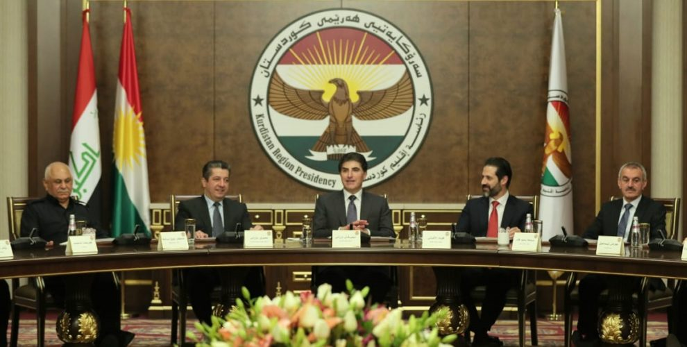 President Barzani chairs KRG Cabinet meeting