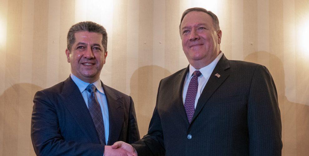 Premierminister Barzani an der 2020 Münchner Sicherheitskonferenz