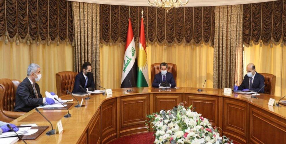 PM Barzani meets Kurdistan Investment Board
