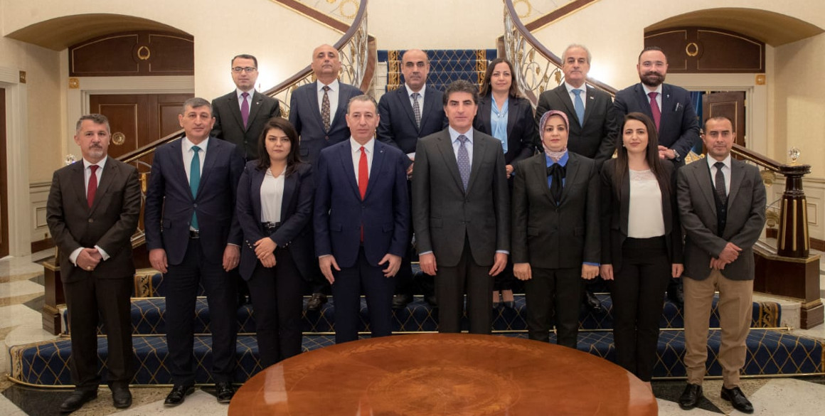 President Nechirvan Barzani reiterates support for rights of ethnic and religious communities