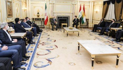 Iranian Foreign Minister meets high-ranking officials of the Kurdistan Region