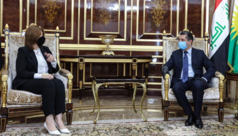 Iraqi Minister of Displacement and Migration in Erbil