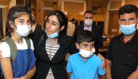 Two Yazidi children reunited with family in Kurdistan Region