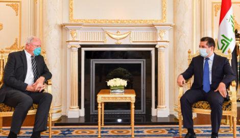 Premierminister Barzani empfängt den US-Sonderbeauftragten