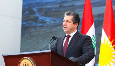 Prime Minister Masrour Barzani inaugurates new highway between Erbil and Duhok