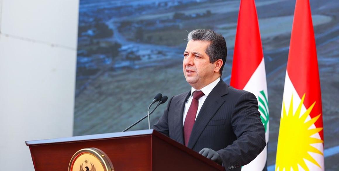 Premierminister Masrour Barzani eröffnet neue Autobahn zwischen Erbil und Duhok