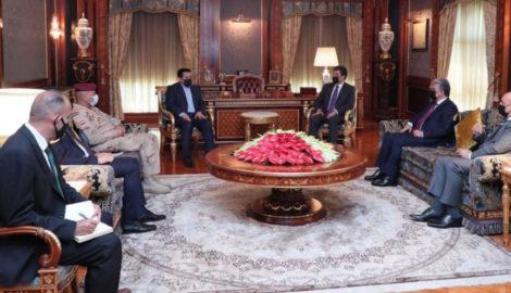 Der Präsident der Region Kurdistan trifft den Nationalen Sicherheitsberater des Irak