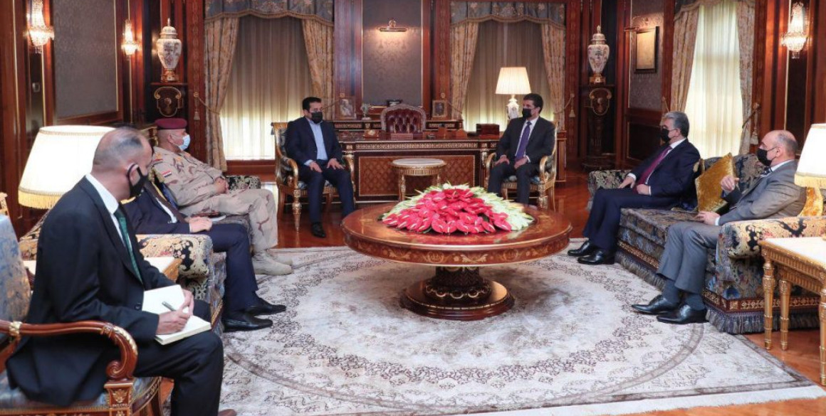 Kurdistan Region President meets Iraq's National Security Advisor