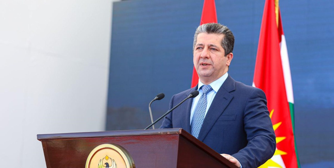 Prime Minister Masrour Barzani marks official start of construction on new Rania Bridge