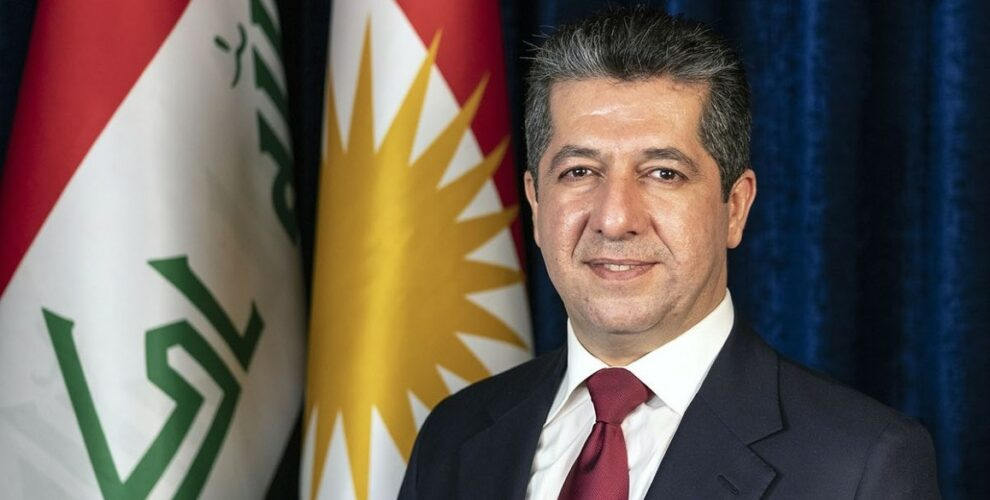PM Masrour Barzani announces the delivery of the first batch of COVID-19 vaccine