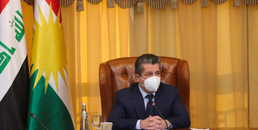 Prime Minister Masrour Barzani meets with High Level Committee on Baghdad Relations