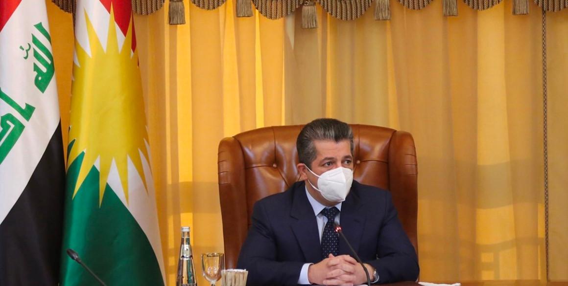 Premierminister Masrour Barzani trifft hochrangigen Ausschuss für Beziehungen zu Bagdad