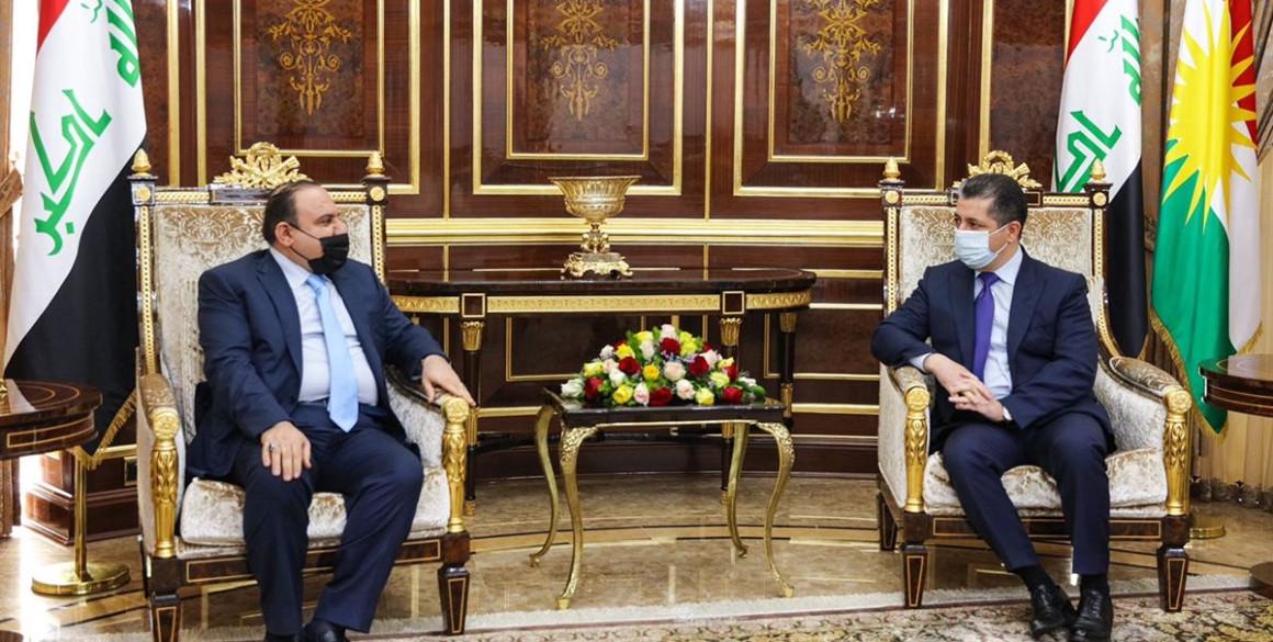 Premierminister Barzani begrüßt den irakischen Justizminister