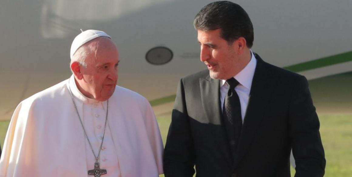 Apostolische Reise von Papst Franziskus in den Irak und in die Region Kurdistan