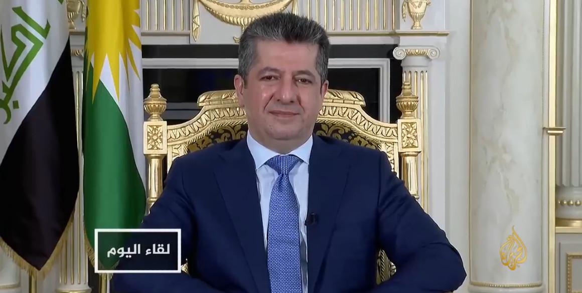 Interview von Premierminister Masrour Barzani mit Al-Jazeera
