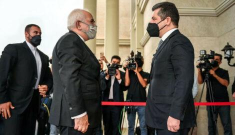 Premierminister Masrour Barzani trifft iranischen Außenminister