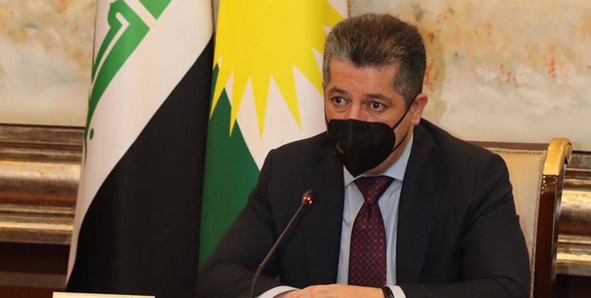Premierminister Masrour Barzani empfängt EU-Vertreter in Erbil