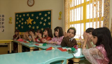 Increasing numbers of teachers and students in the KRI