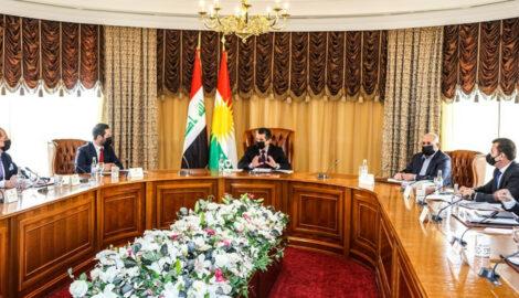 Treffen zum Entwurf des Budgets der Region Kurdistan