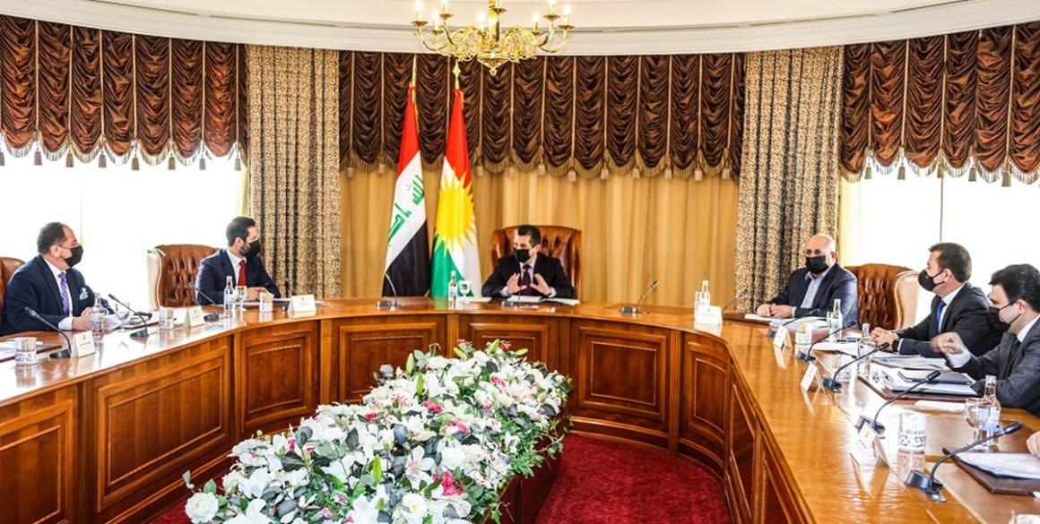 Meeting on the Kurdistan Region's draft budget bill