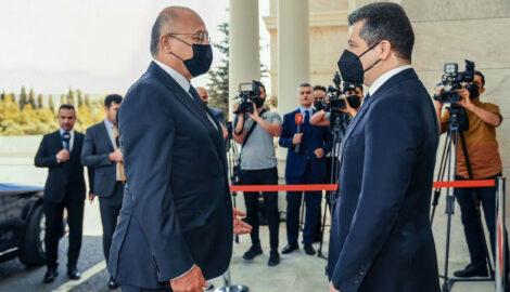 Premierminister Barzani empfängt irakischen Präsidenten