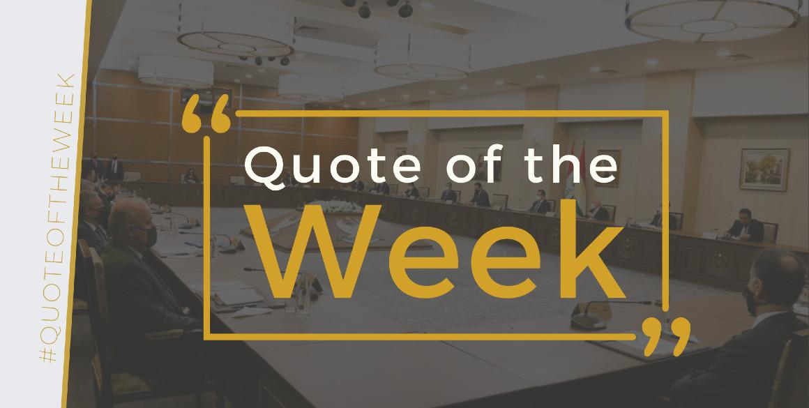 Zitat der Woche