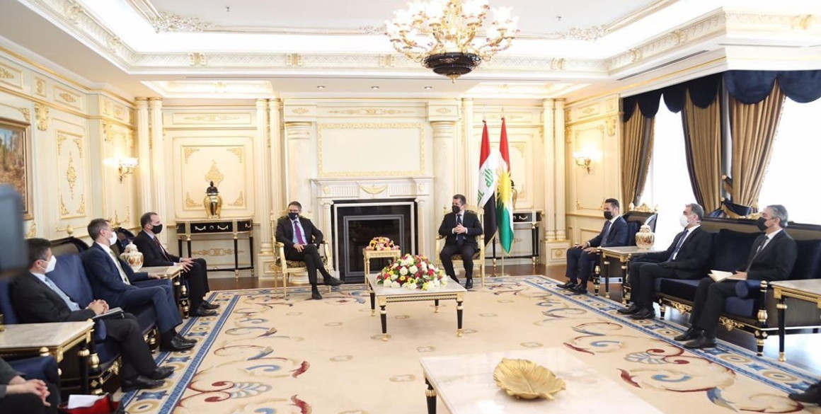 Premierminister Masrour Barzani trifft hochrangige US-Delegation