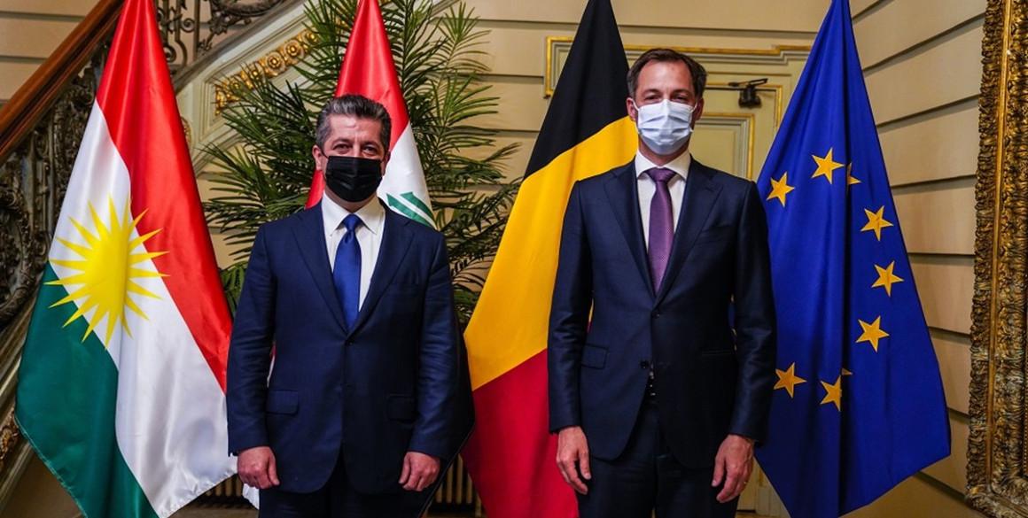Premierminister Barzani trifft belgischen Amtskollegen in Brüssel