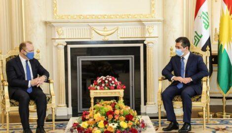 Premierminister Masrour Barzani trifft US-Sondergesandten