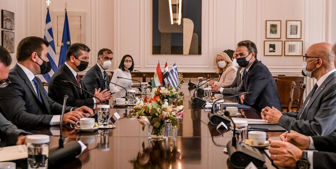 Premierminister Barzani zu Besuch nach Griechenland