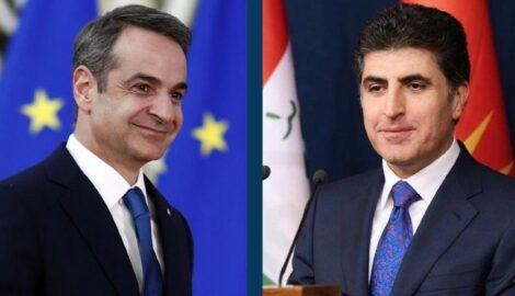 KRI-Präsident und griechischer PM diskutieren bilaterale Beziehungen