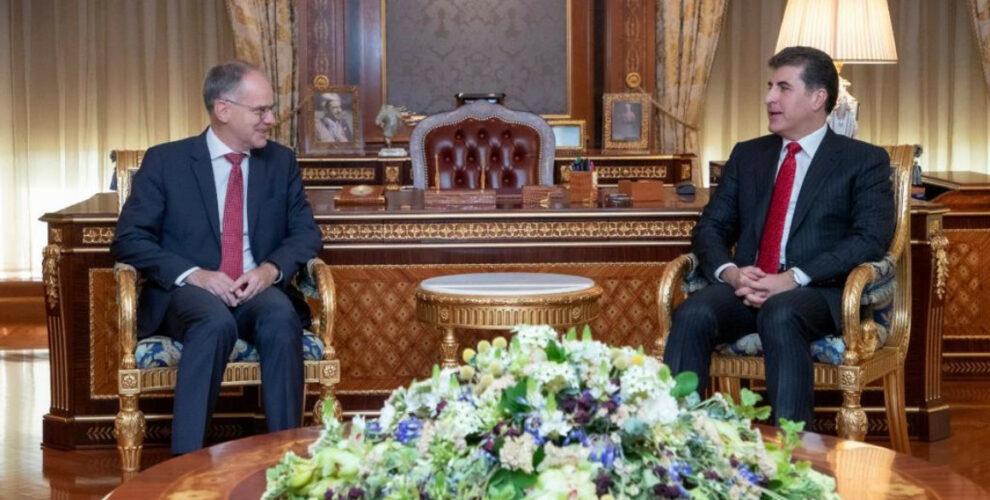 Official Visit of Ambassador Wüstinger in Erbil