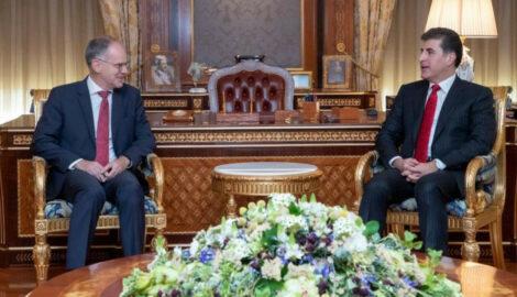 Präsident Barzani empfängt österreichischen Botschafter in Erbil