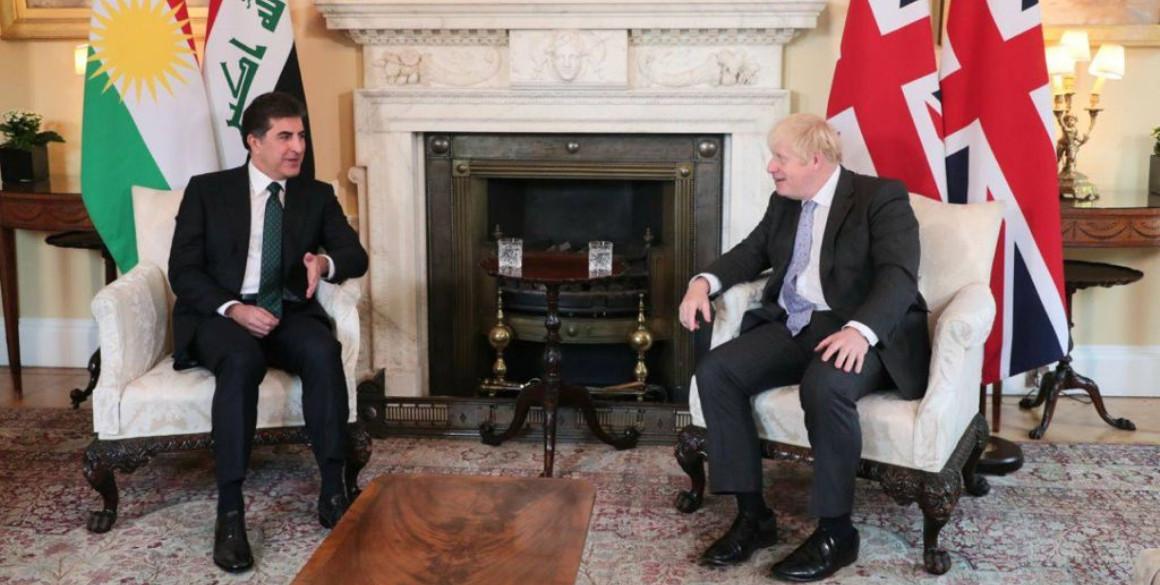 Präsident Barzanis offizieller Besuch in Großbritannien