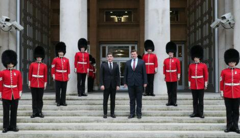 Kurdistan Region President meets U.K. Minister of Defense