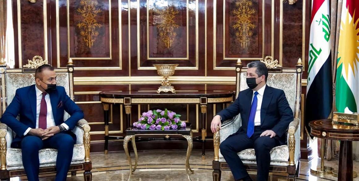 PM Masrour Barzani trifft den Leiter der Integritätskommission