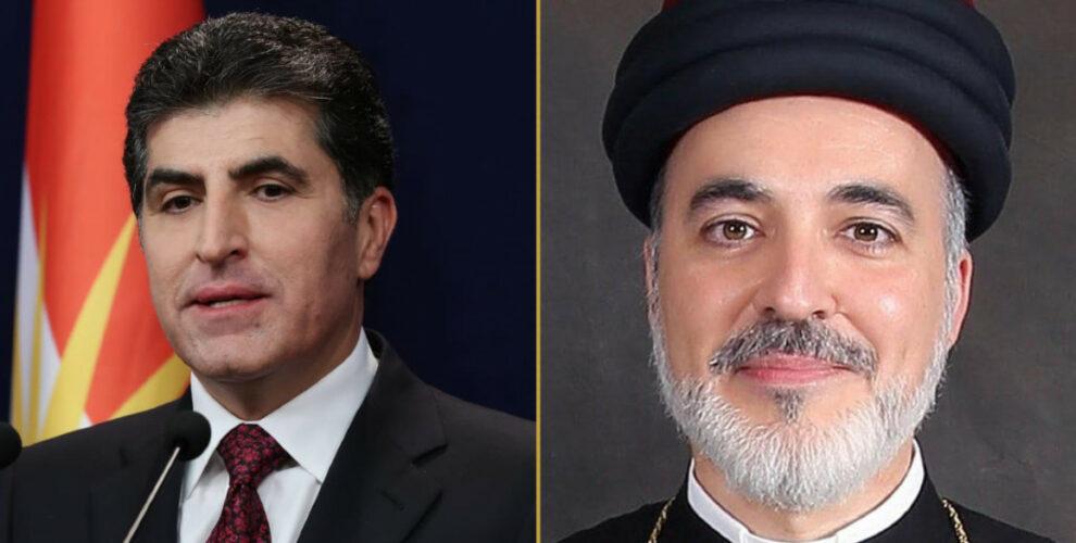 President Nechirvan Barzani congratulates new Patriarch Mar Awa III