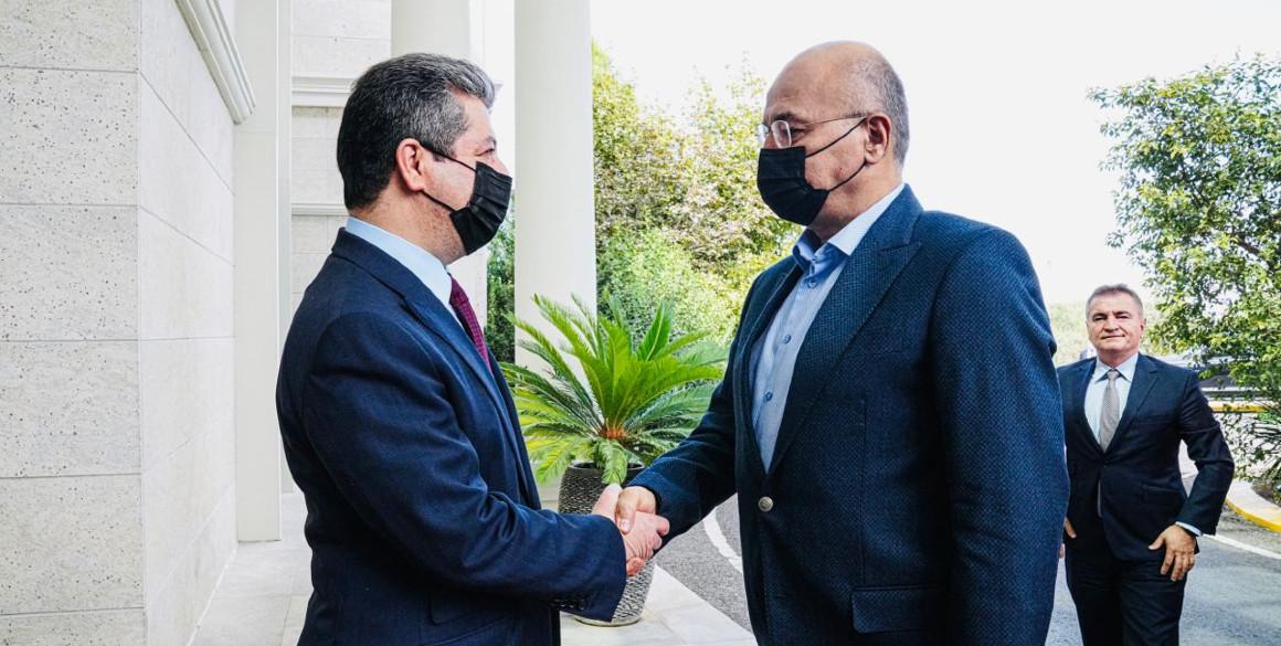 Premierminister trifft irakischen Präsidenten